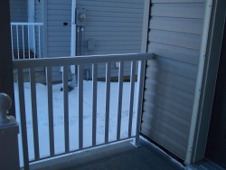 Aluminum Rail with Wide Picket