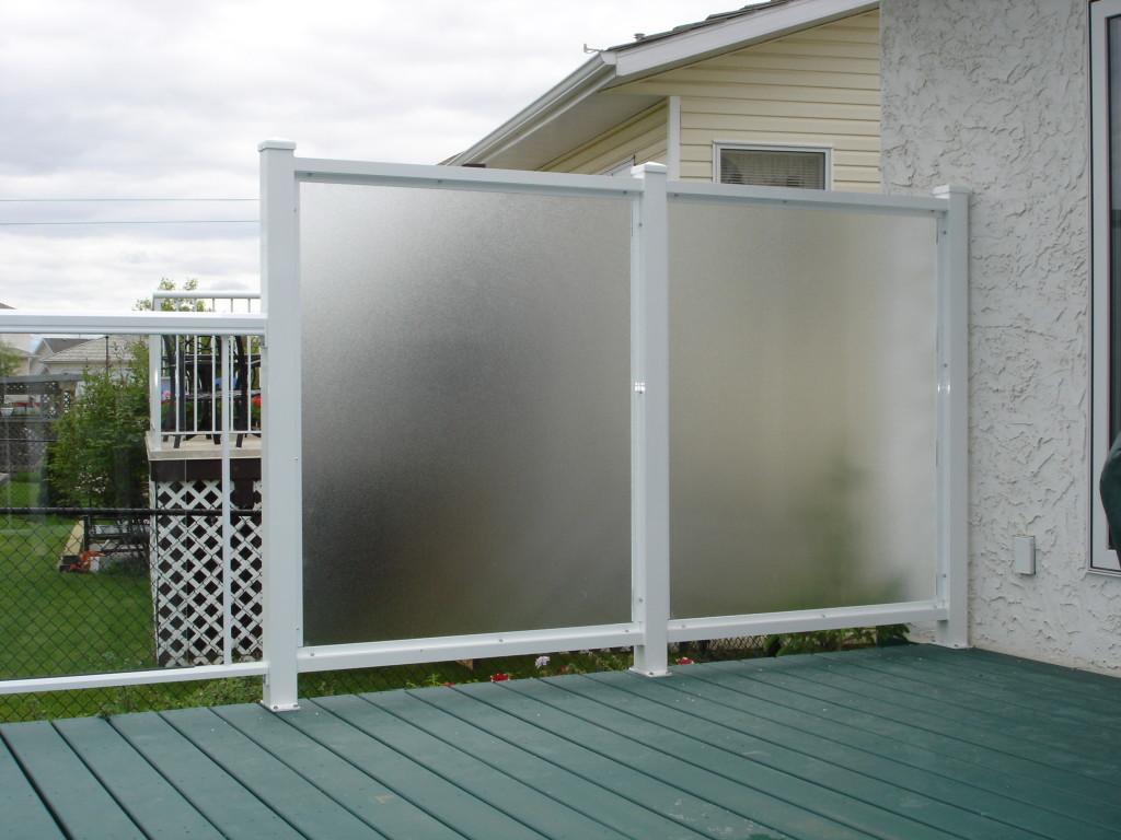 aluminum glass railing edmonton south side ornamental