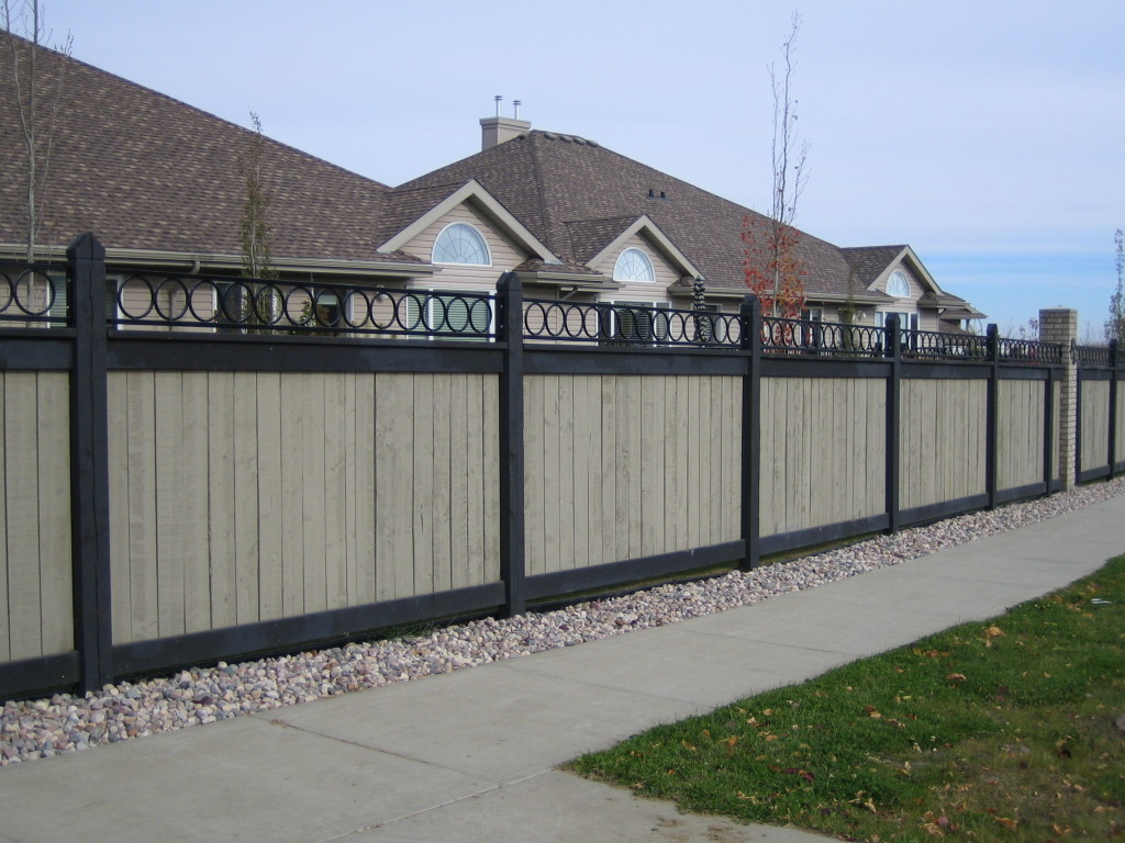 Decorative Fence Toppers Fencing Gates Edmonton South Side Ornamental