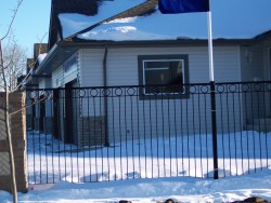 Iron Fencing with Design