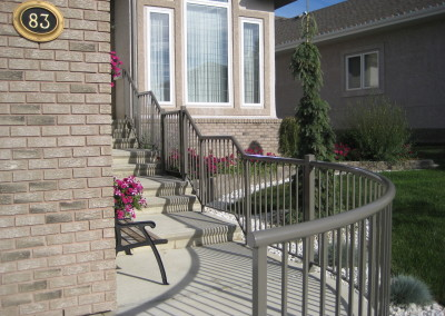 Aluminum Picket Railing