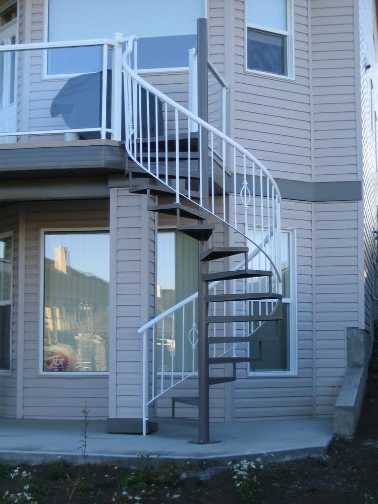 Custom Staircase Edmonton South Side Ornamental